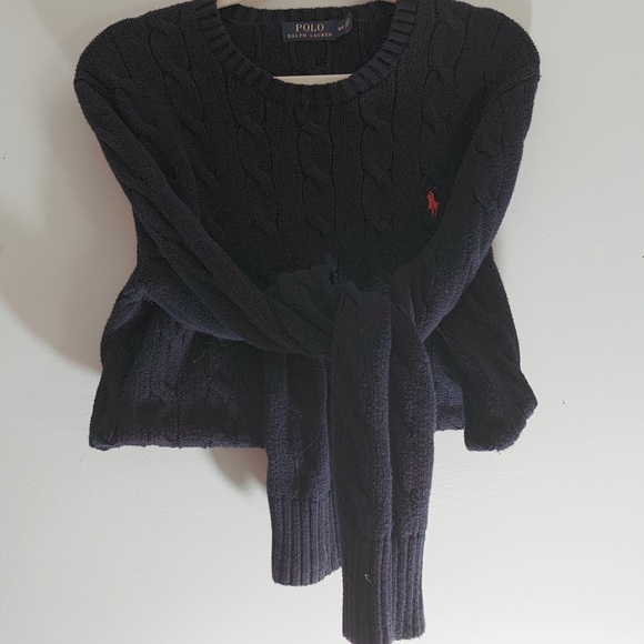 Vintage Crop Ralph Lauren Sweater